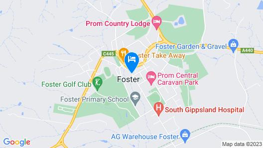 Wilsons Promontory Motel Map
