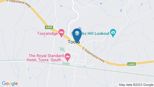 Toora Tourist Park Map