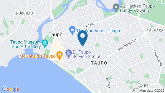 Quest Taupo Serviced Apartments Map