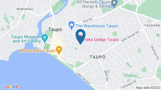 Haka Lodge Taupo - Hostel Map
