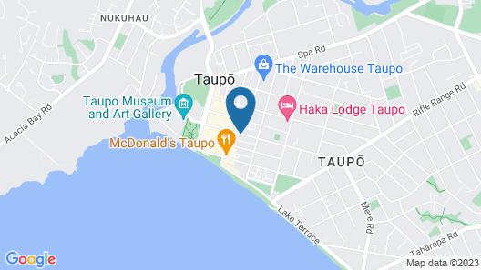 Taupo Urban Retreat Map