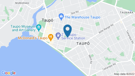 Adelphi Motel Map