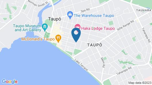 Lake Taupo Motor Inn Map