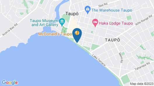Great Lake Motel Taupo Map