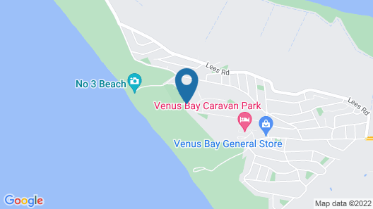 Venus Escapes Guesthouse Map