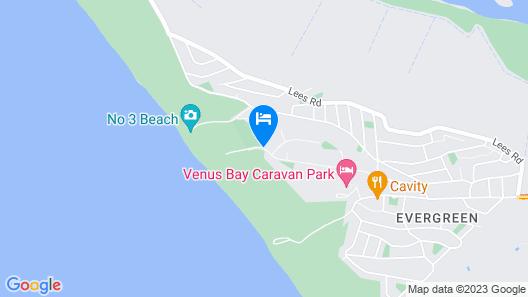 Venus Escapes Guesthouse Map