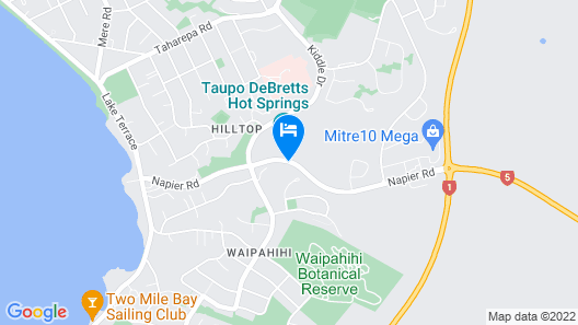 Hilton Lake Taupo Map
