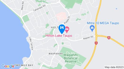 Taupo DeBretts Spa Resort Map