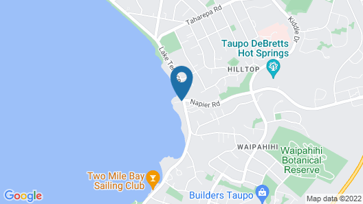 The Cove Taupo Map
