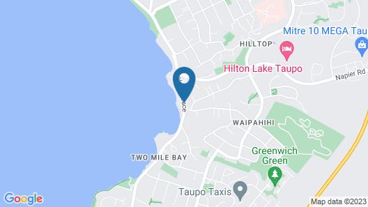 Oasis Beach Resort Map