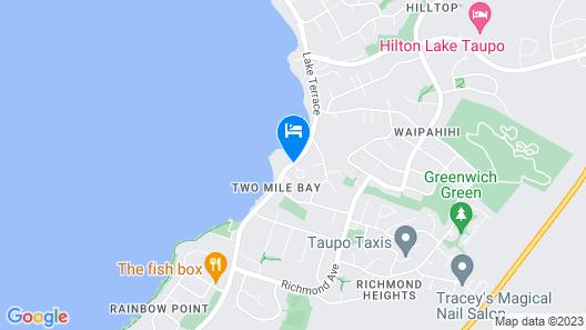 Lakeland Resort Taupo Map