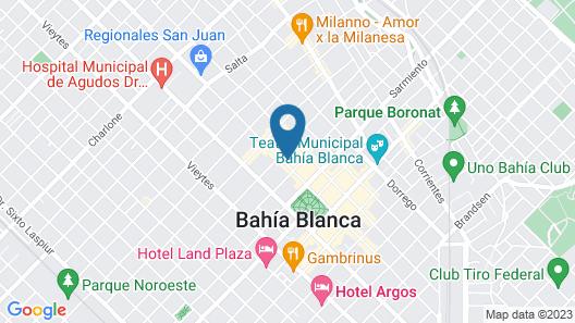Hotel Boutique Sofia Soberana Map
