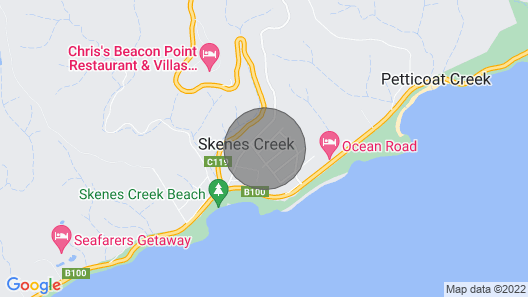 Gunyha - Ocean Views, Walk To Beach Map
