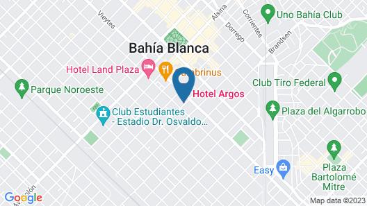 Hotel Argos Map