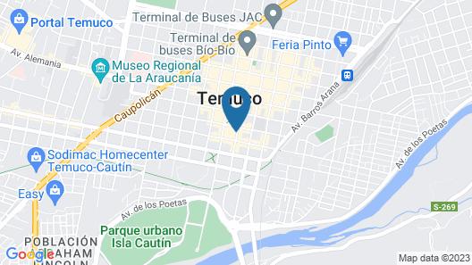 Hotel Frontera Clasico Map