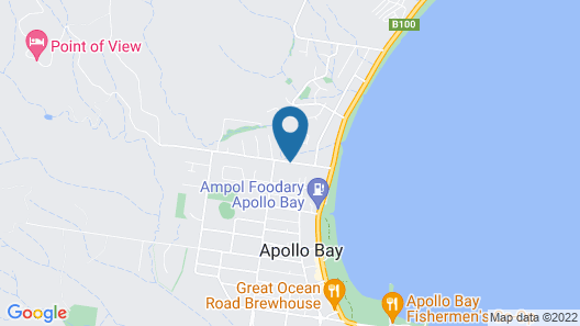 Apollo Bay Holiday Park Map