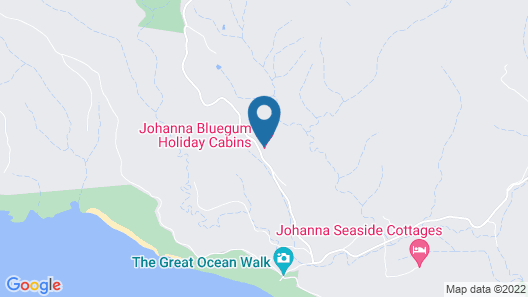 JOHANNA BLUEGUM HOLIDAY CABINS Map