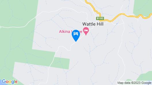 Alkina Lodge Map