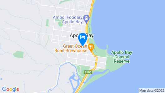 Best Western Apollo Bay Motel and Apartments Map