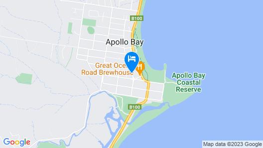 Apollo Bay Eco YHA - Hostel Map