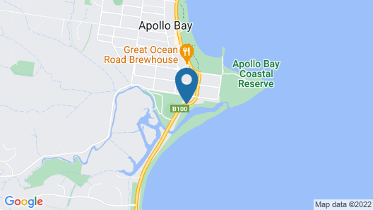 A Great Ocean View Motel Map