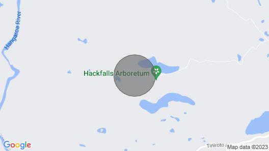 Hackfalls Arboretum Cottage Map