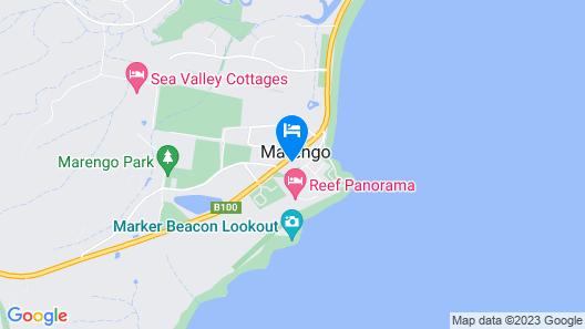 Apollo Bay Seal Apartments Map