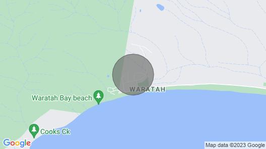 Waratha Bay Beach House Map