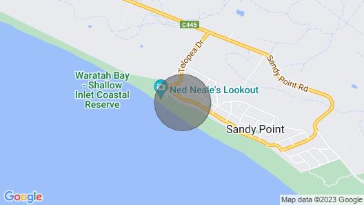 Beach House Retreat - 'Bob-Inn' Map