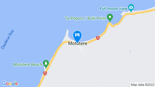 Motutere Bay Top 10 Holiday Park Map