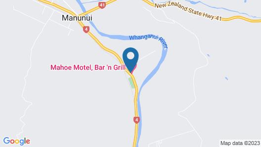 Mahoe Motel Bar n Grill Map