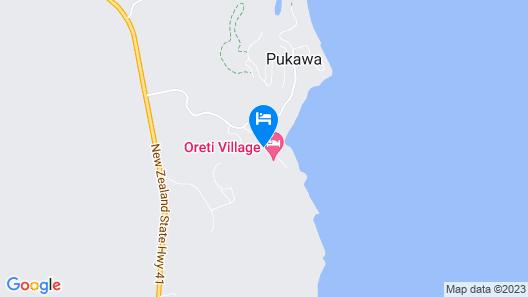 Oreti Village Resort Map