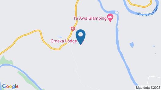 Omaka Lodge Map