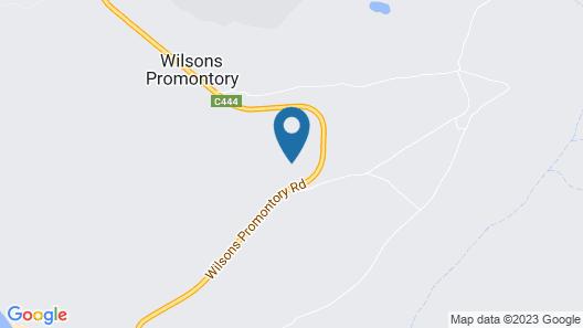 Wilderness Retreats - Wilsons Promontory Nat Map