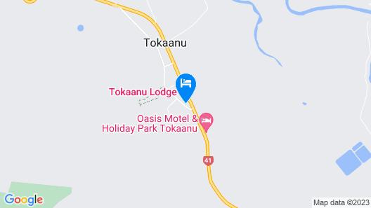 Tokaanu Lodge Motel Map