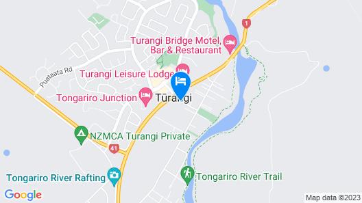 Settlers Motel Map