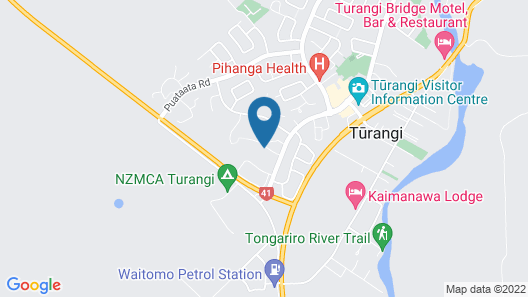 Turangi Holiday Park Map