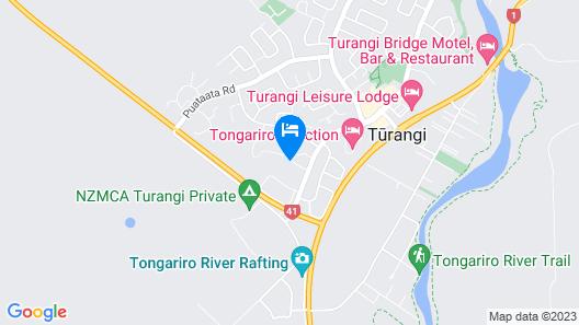 Turangi Holiday Park Map
