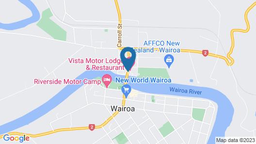 Vista Motor Lodge Map