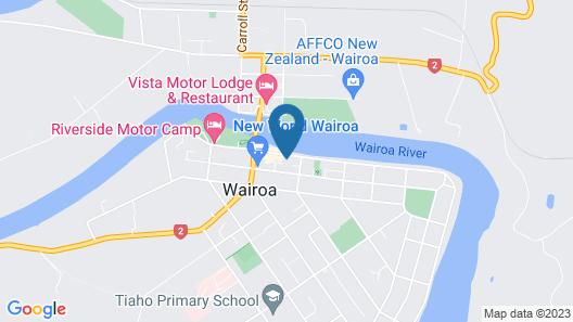 Hotel Studios Hawkes Bay Map