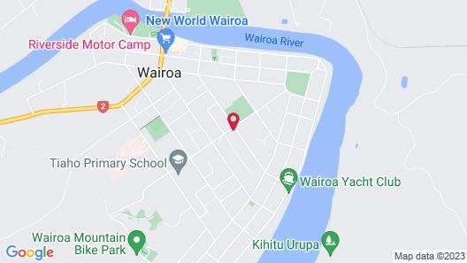 Wairoa Motel Map