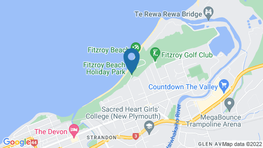 Fitzroy Beach Holiday Park Map
