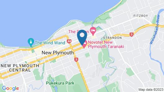 Plymouth International Map