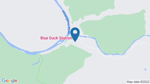 Blue Duck Station Map