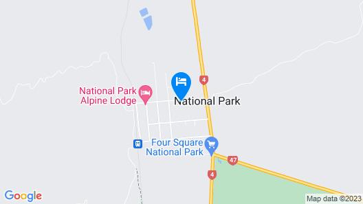 Tongariro Crossing Lodge Map