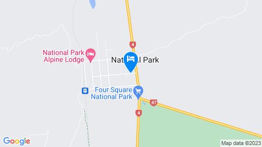The Park Hotel Ruapehu Map