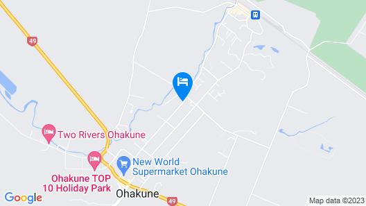 Ohakune Court Motel Map