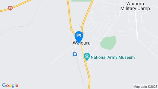 WAIOURU WELCOME INN Map