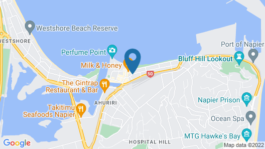 Navigate Seaside Hotel Map