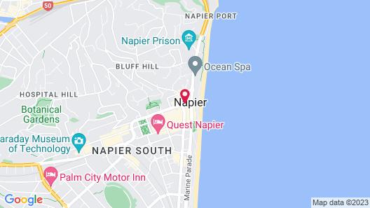 Art Deco Masonic Hotel Map